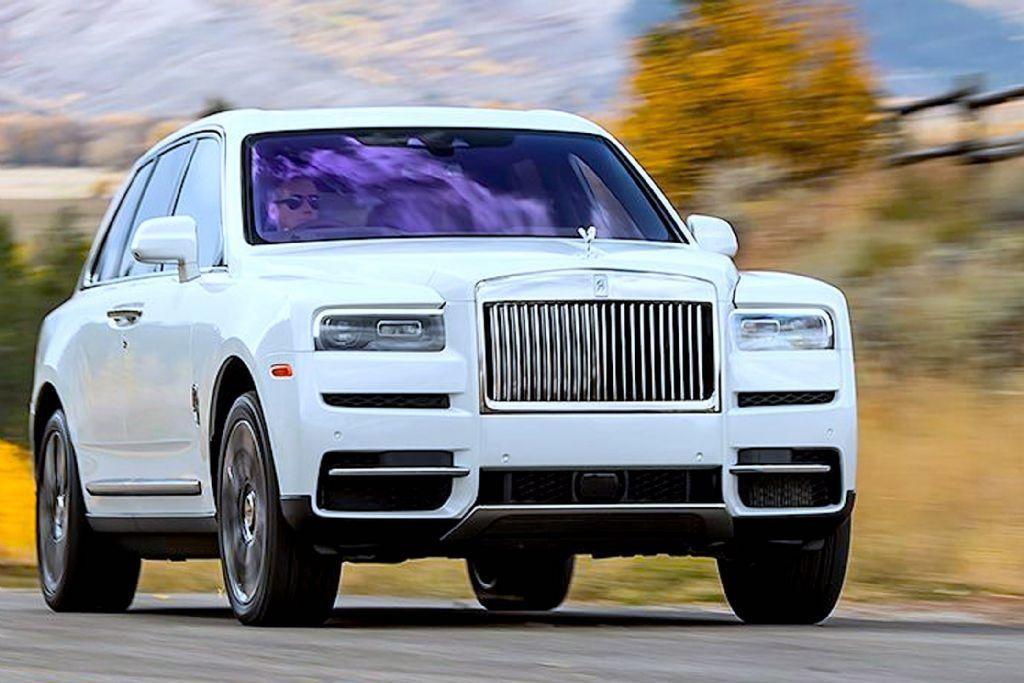 Autobakkierace Co Za Cruising Rolls Royce Cullinan